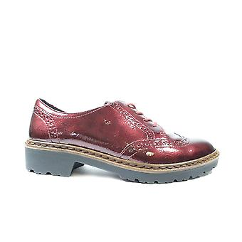 Ara Richmond 16502-84 Burgundy Patent Leather Womens Brogue Shoes