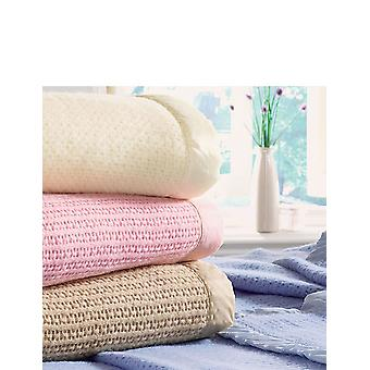 Diana Cowpe Cellular Wool Blankets By Diana Cowpe