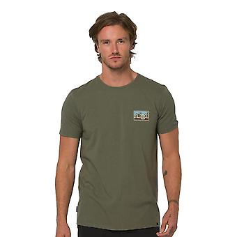 Animal Heritage T-Shirt - Dusty Olive Green