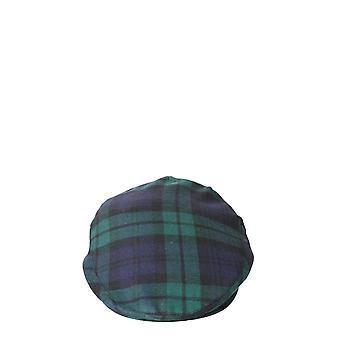 Comme Des Garçons Shirt W286511 Heren's Blauwe/groene wollen hoed