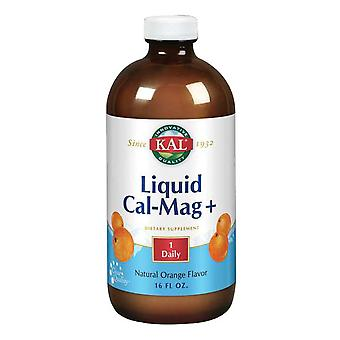 Kal Liquid Cal-Mag+, Orange 16 oz