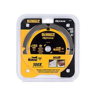 DEWALT Extreme PCD Fibre Cement Saw Blade 165 x 20mm x 4T DEWDT1471QZ