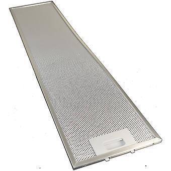 Universal spis huva metall fettfilter 756mm x 185mm