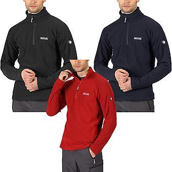 Regata Mens Kenger 1/2 Zip Mid Weight Honeycomb Outdoor Fleece Pullover