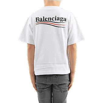 Balenciaga T-shrt Kids White 556155TIVB59040 Top