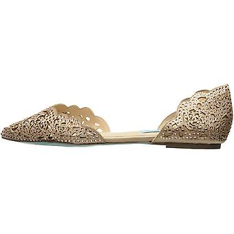 Blue by Betsey Johnson Women's Sb-Lucy Pointed Toe Flat