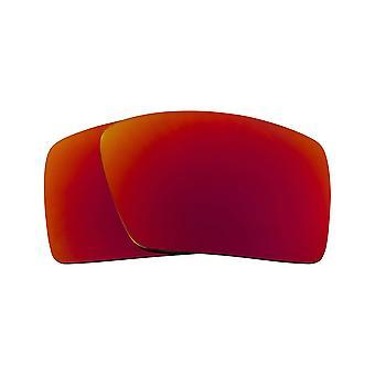 عدسات استبدال لـ Oakley Eyepatch 1 نظارات شمسية مضادة للخدش مرآة حمراء