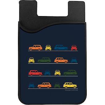 London Taxi Company TX4 Angled Colourful Montage Phone Card Holder