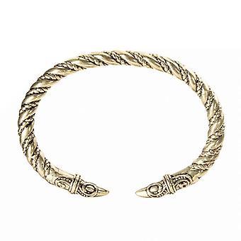 Men Punk Alloy Large Bangles Wristband Retro Viking Jewelry Bracelet