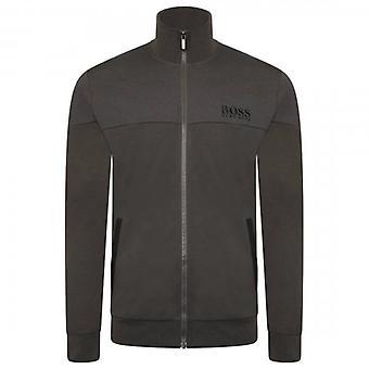 Hugo Boss træningsdragt Zip Up Khaki Green Loungewear Sweatshirt 50443053