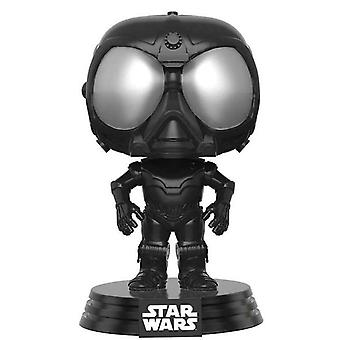 Star Wars Funko Pop Black Death Star Droid Bobble Head - Star Wars Rogue One