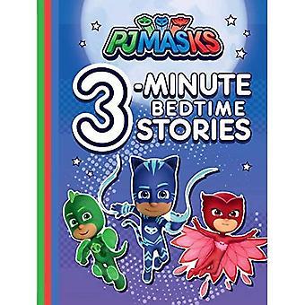 Pj Maskers 3-minuten Bedtime Stories (Pj Maskers)