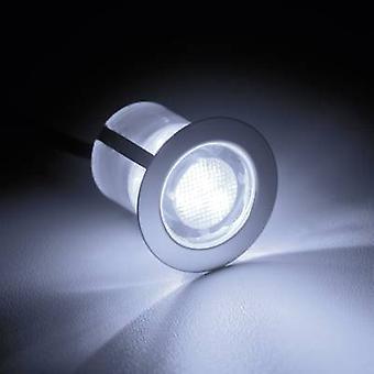 رائعة كوزا 30 G03093/82 الصمام راحة ضوء 10 قطعة مجموعة 1.5 W بارد الأبيض الفولاذ المقاوم للصدأ