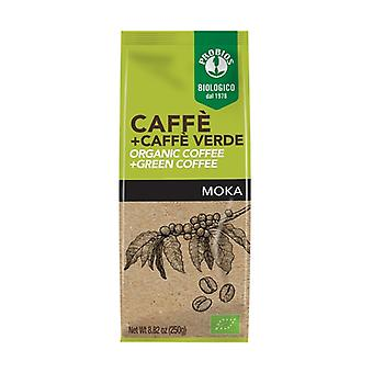 Coffee + Green Coffee - For Moka 250 g