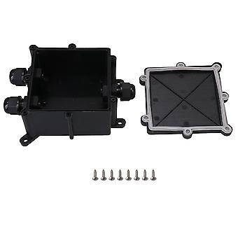 PC-Plastic 1 Ind i 2 Out Junction Box Connector IP68 til 9-13MM kabler