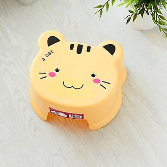 Thick Plastic Stool Bathroom/ Bath Bench/cute Living Room  Cartoon Shoes Bench