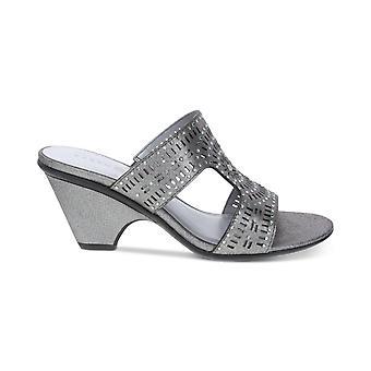 Karen Scott Femmes Kendra Open Toe Casual Slide Sandals