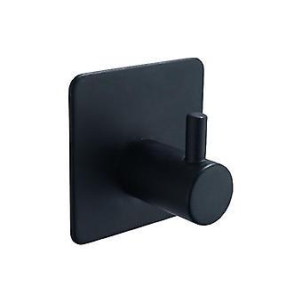 Robe Hook væg håndklæde badeværelse rustfrit stål Coat Rustproof Bøjle
