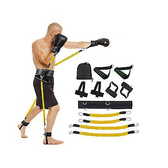 Arm Leg Bounce Strength Trainer,basketball Jump Training Rope Suit,latex Tube Agile Trainer For Body