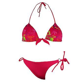 Puma Womens Style Cats Triangle Bikini Tie Up Swimwear 819412 03