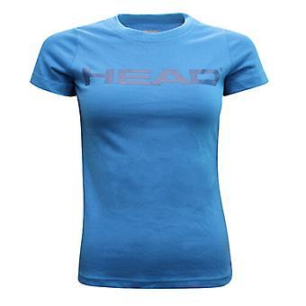 Head Club Lucy Naisten T-paita T-paita Toppi Lyhythihainen Sininen 814313 BLNV RW69