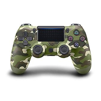 DoubleShock Bluetooth Wireless Controller for PS4, Green Camouflage