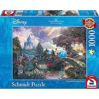Thomas Kinkade Disney Popelka 1000 kus puzzle