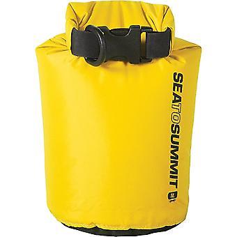 Hav till toppen Lätt 70D DrySack Gul - 1 liter