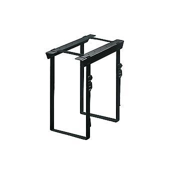 Newstar cpu-d025black under desk pc mount (suitable pc dimensions - height: 3-60 cm / width: 8-70 cm