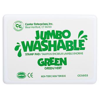 Jumbo waschbare Stempel Pad, grün