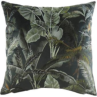Evans Lichfield Kiable Leaves Cushion Cover