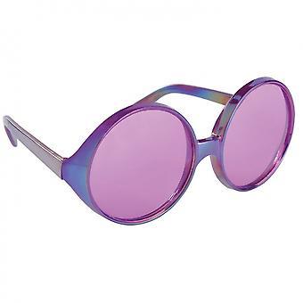 Feestbril Paars Dames 16X5 Cm