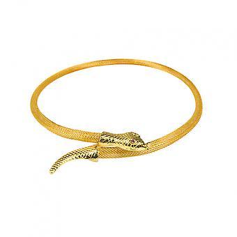 Nilen Kvinnors Stål Guld En storlek Kedjeorm
