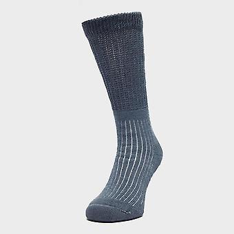 Brasher Women's Hiker Socks Blue