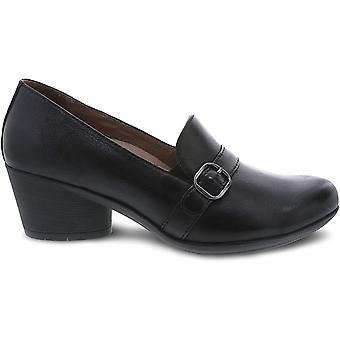 Dansko Women's Shoes Rosalie Burnished Nubuck Leather Closed Toe Clogs