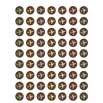 Voyage The Map Airplanes Mini Stickers, Pack Of 378