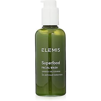 2 x Elemis Superfood kasvojen pesu prebioottinen geeli puhdistusaine 200ml