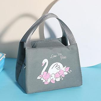 Cartoon Cooler Lunch Bag For Picnic Kids/women Travel