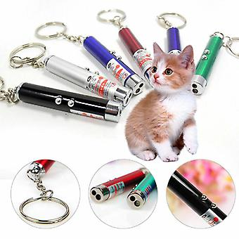 Led Laser Pet Cat Toy, Red Dot, Light Sight, Interactive Laser Pen, Pointer