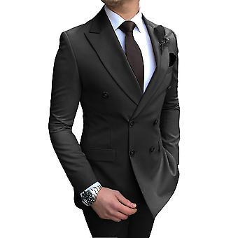 Düğün için Rahat Smokinler (blazer + pantolon)