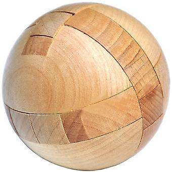 Wooden Puzzle Brain Teasers Toy Intelligence Game Sphere Puzzles For Adults/kids