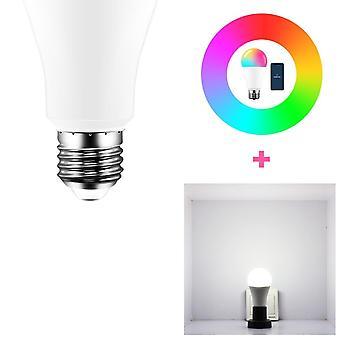 Wifi Smart Light Bulb, Led Rgb Lamp With Rgb+white Timer Function, Magic Bulb