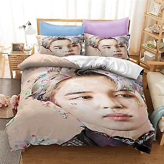 Popular Bangtan Printed Bedding Set Map Of The Soul7 Album Duvet Cover
