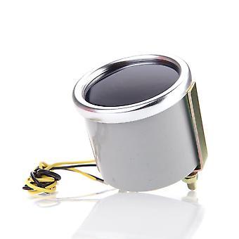 """2"""" 52Mm motor car bar boost gauge universal smoke lens indicator white meter"""