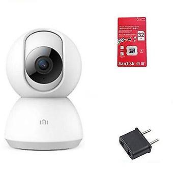 360 Uhol Hd Cam Wifi Infračervené nočné videnie Webová kamera Videokamera