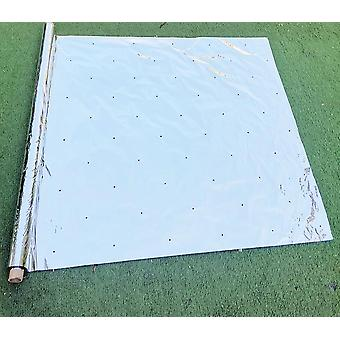 Double Side Reflective Mulch Permeable Mylar Patch Agricultural Silver Plant
