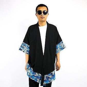 Giapponese Kimono Cardigan Male Samurai Abbigliamento / Giacca / Camicia