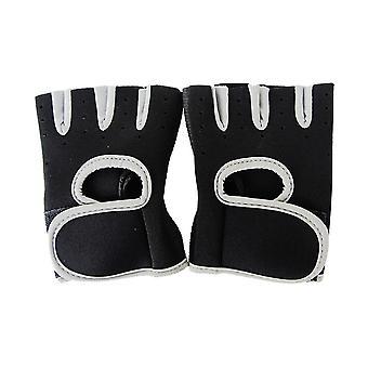 Mannen, Vrouwen Gym Half Finger Fitness Training Training Polshandschoenen, Anti-slip,