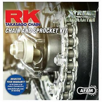 RK Стандартная цепь и звездочка Подходит для Honda CM200TA / B Custom 80-84