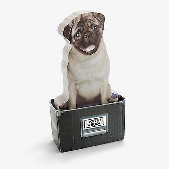 Senap - hund i en låda klibbiga anteckningar (150 ark)